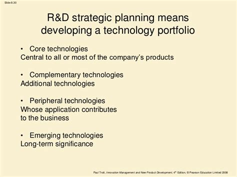 R D Strategy Template Templates Data R D Strategy Template