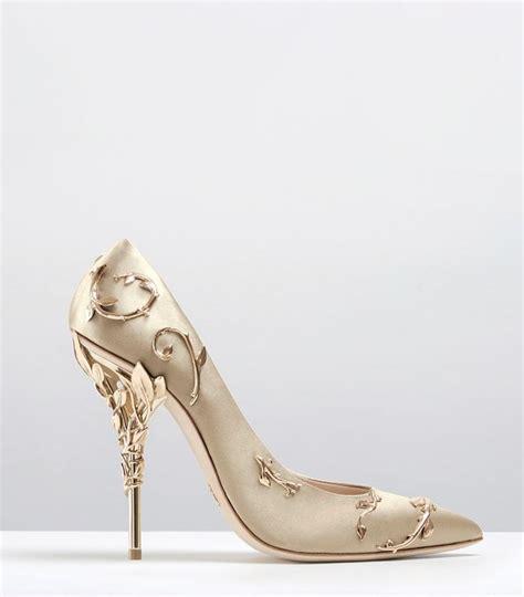 Gold Bridal Heels by Gold Bridal Heels Heels Zone