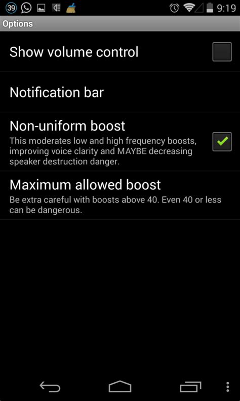 sound increaser for android how to increase volume of your android phones speaker