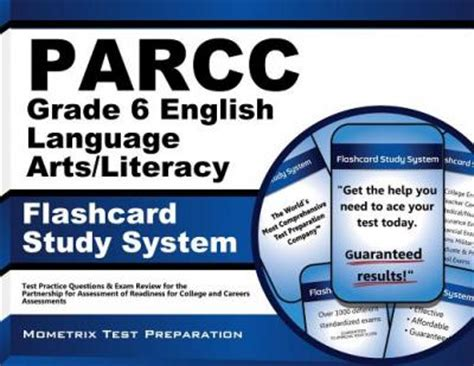 parcc test prep grade 6 language arts literacy ela practice workbook and length assessments parcc study guide books parcc grade 6 language arts literacy flashcard