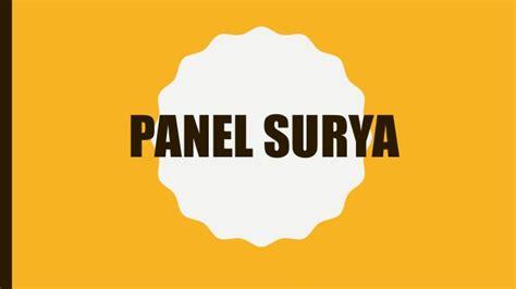 Jual Panel Surya 082288249585 jual panel surya