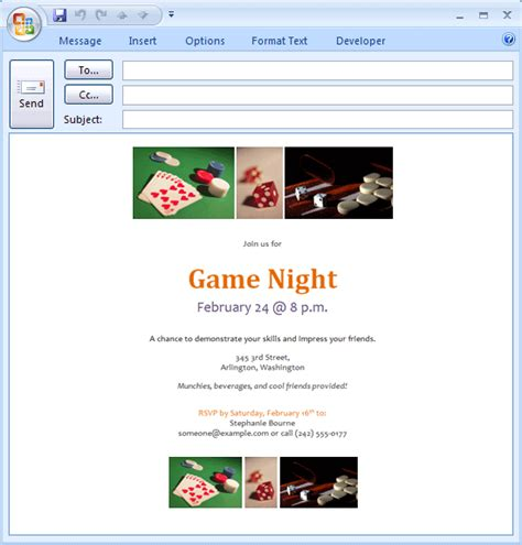 Invitation Template Outlook Http Webdesign14 Com Outlook Email Invitation Templates Free