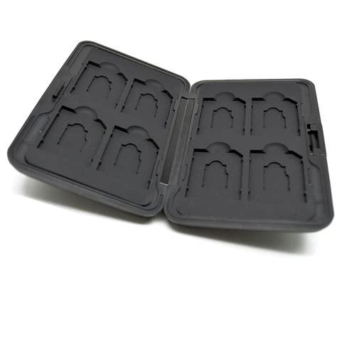 Kotak Metal Penyimpan Sd Micro Sd 8 Slot 1 kotak metal penyimpan sd micro sd 8 slot black black jakartanotebook