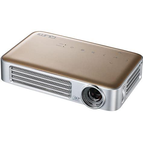 Projector Qumi vivitek qumi q6 800 lumen wxga dlp pico projector q6 gd b h