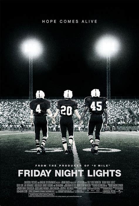 friday night lights football team advantage catdome hayden s movies top 5 football flicks