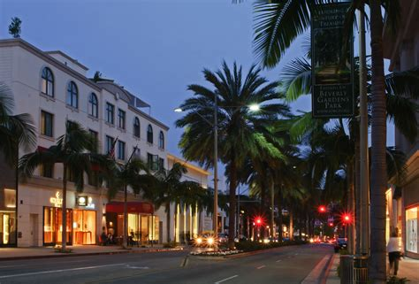 rodeo drive beverly hills some golden light photography