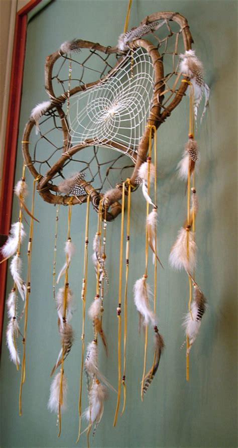 Handmade American Dreamcatchers - white lace web hip inspiration on