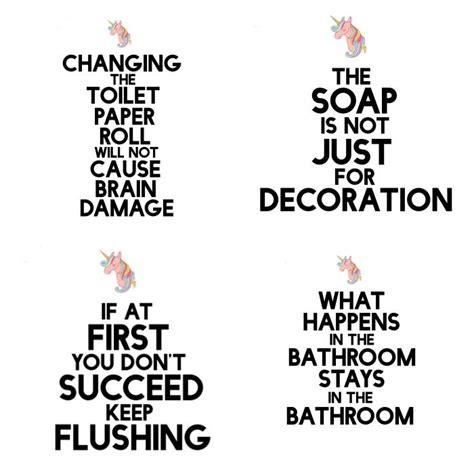 printable toilet quotes funny but true diy bathroom art free printable toilet