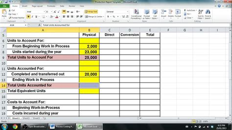process costing part 2 managerial accounting youtube