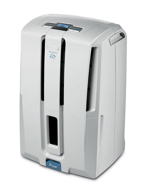 dehumidifiers with pumps for basements delonghi dd50p 50 pt energy dehumidifier with patented home kitchen