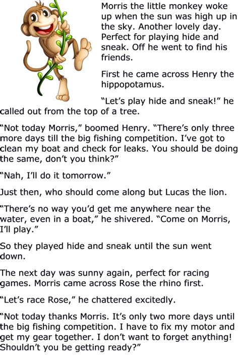free childrens moral story 1 story pinterest morals