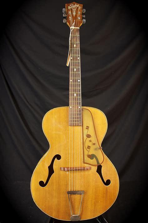 Vintage Guitar Acustic vintage archtop acoustic guitar images