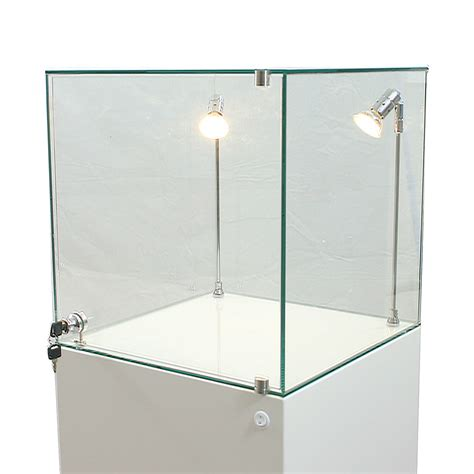 led display cabinet lighting glass display cabinet hire exhibition plinths