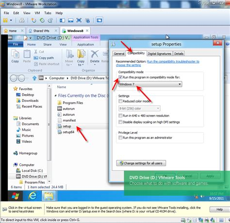 reset vmware tools guide install windows 8 on vmware workstation with vmware