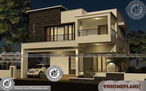 villa house plans   elevations box type modern