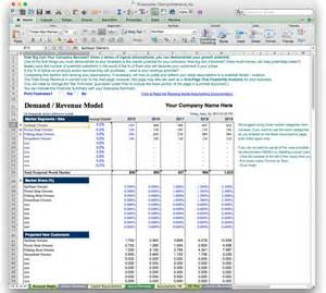 Business Plan Financial Template Excel by Business Plan Financial Model Template Bizplanbuilder