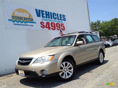 gold subaru outback 2008 harvest gold metallic subaru outback 2 5i limited