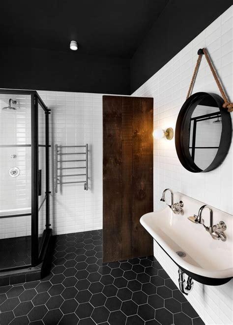 Black N White Bathrooms by Bathroom Palette Black White