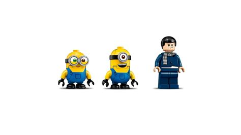 unstoppable bike chase minions lego