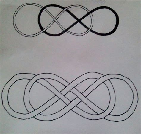 double infinity tattoo by marycloe on deviantart