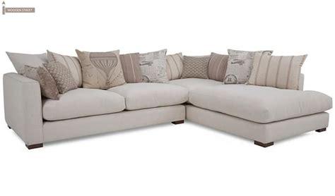 white l shape sofa adler l shape sofa white