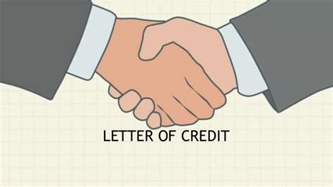 Letter Of Credit On Export letter of credit