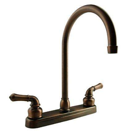 Camper Kitchen Faucet dura faucet df pk330hc orb j spout rv kitchen faucet oil