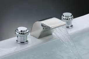 wasserfall wasserhahn wood furniture waterfall bathtub faucet