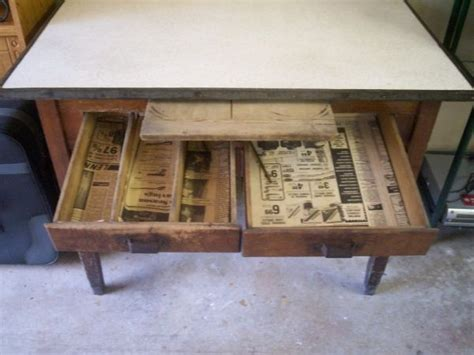 antique possum belly bakers table your