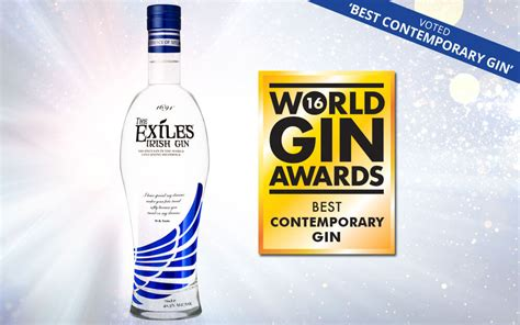 world best gin the exiles 174 gin named best contemporary gin at