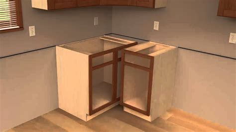 how to build a blind corner cabinet 3 cliqstudios kitchen cabinet installation guide chapter