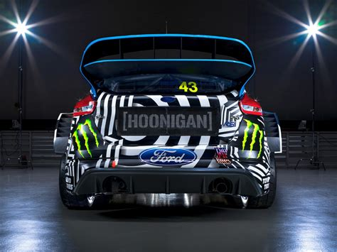 Ken Block Ford Focus Specs by Ken Block And Hoonigan Racing Unveil Ford Focus Rx