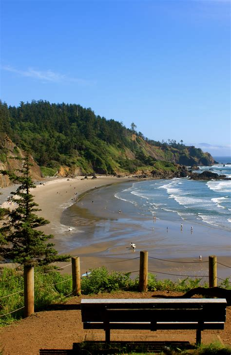 worth a stop ecola state park footbridge to the feast