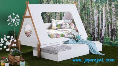 Tenda Anak Kayu tempat tidur anak tenda minimalis jepara jati