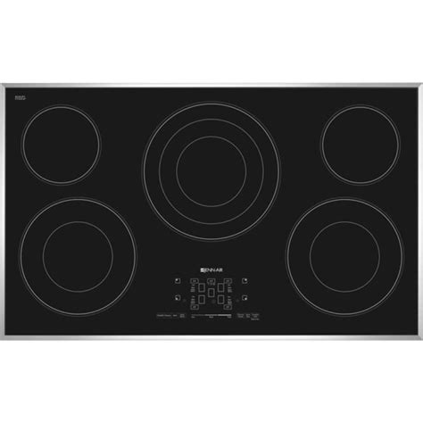 Electric Cooktop 2 Burner Ceramic Glass Jenn Air Jec4536bs Canadian Appliance