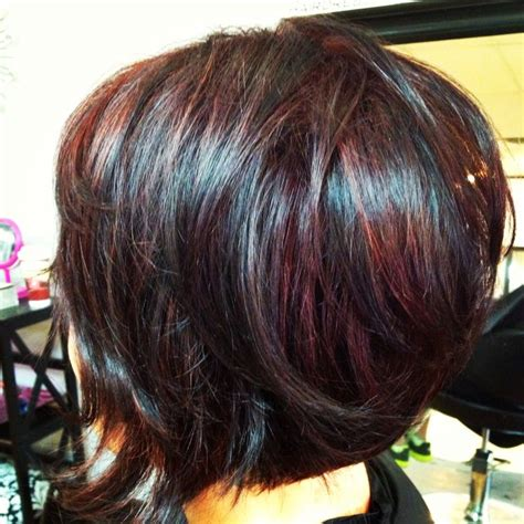short bobs layer an the fourth an cherry an blond color 1981 best hair beautiful images on pinterest hair cut