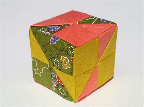 Make Origami Cube - how to make an origami cube in 18 easy steps from japan