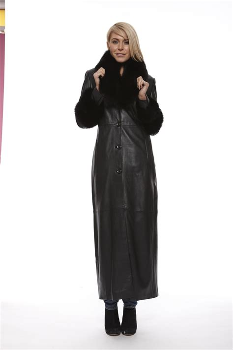 black leather womens leather coat in black dr leather coats nextone leather