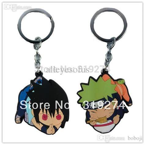 Figure Sasuke Key Chain Set 20b wholesale wholesale retail 2015 fs set uzumaki