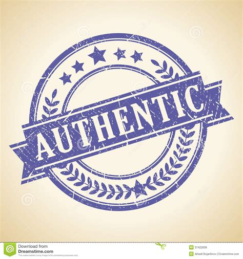 Vector Authentic authentic vintage st royalty free stock images image 37422639