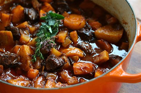 How To Cook Root Vegetables In Oven - french beef stew with old fashioned vegetables the daring gourmet