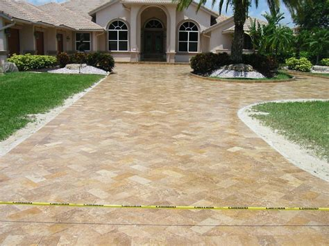 Home Design And Remodeling Show Miami driveways amp entryways travertine tampa