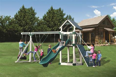 vinyl swing sets pa a 5 deluxe kauffman family marketplace