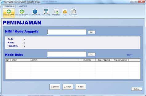desain interface adalah software perpustakaan jurusan download gratis