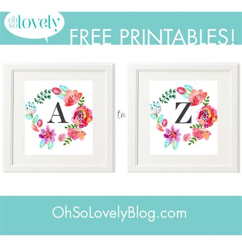 printable monogram art free printables plakaty w pokoju dziecka top 5 stron do