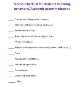 behavior modification contract template behavior contracts and checklists that work scholastic