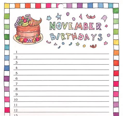 birthday reminder calendar template best photos of birthday reminder calendar template
