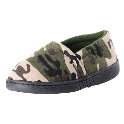 camouflage slippers boys camouflage print slippers with non slip sole new