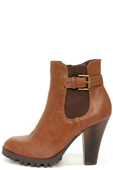 boots high heels brown boots high heel boots ankle boots 34 00