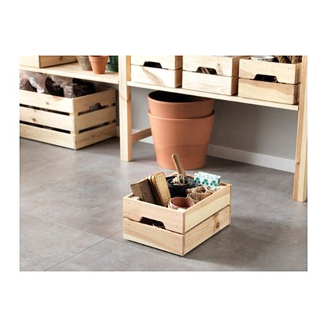 knagglig ikea knagglig box pine 23x31x15 cm ikea